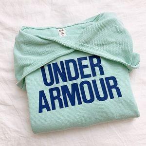 Under Armor long sleeve hoodie cold gear girl YXL